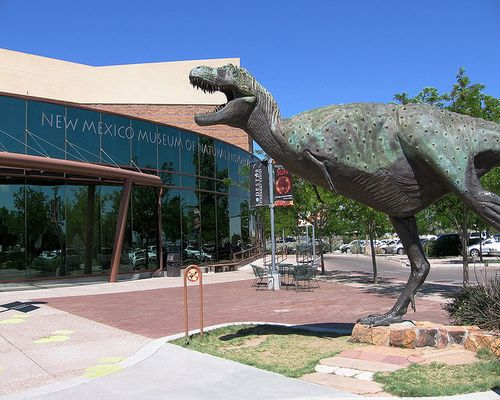 The Planetarium at the New Mexico Museum of Natural History & Science