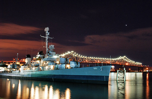 USS Kidd and Veterans Memorial