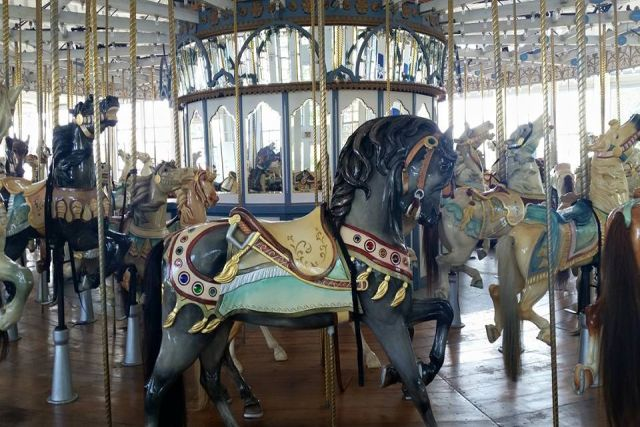 Carousel at Lighthouse Point Park