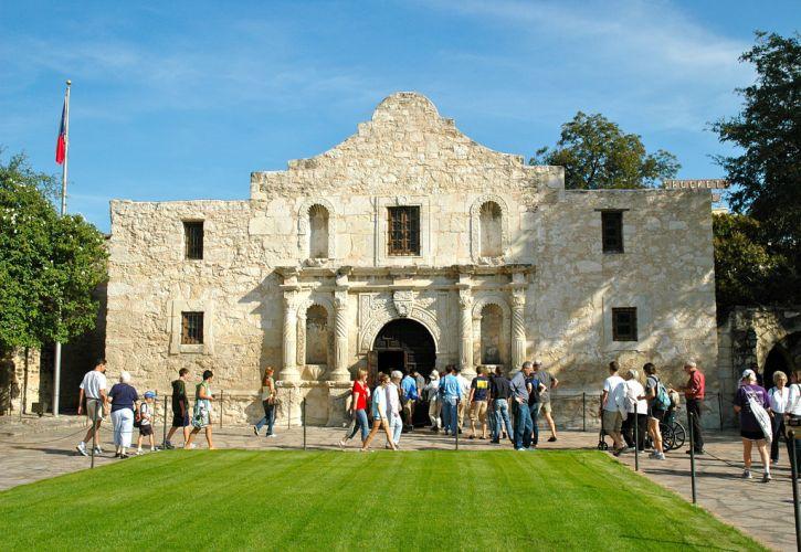 The Alamo Mission in San Antonio