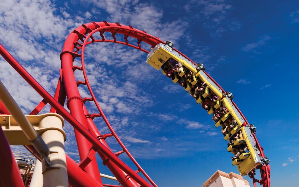 New York New York Vegas Rollercoaster