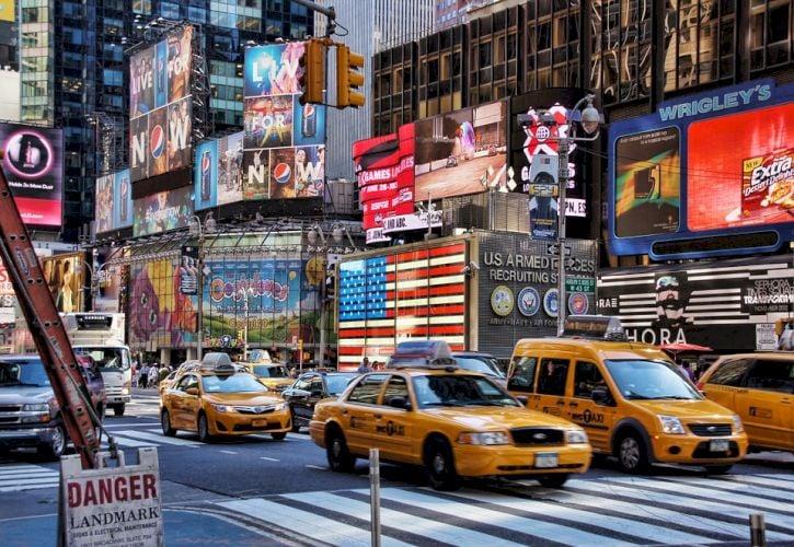 Visit Times Square