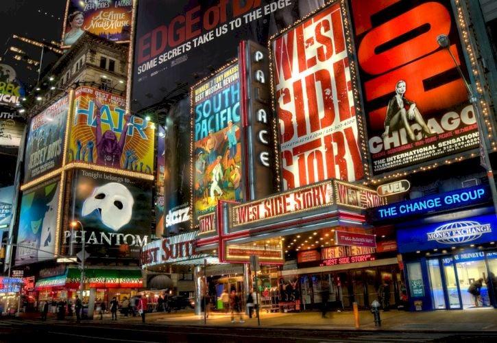 Watch a Broadway Show