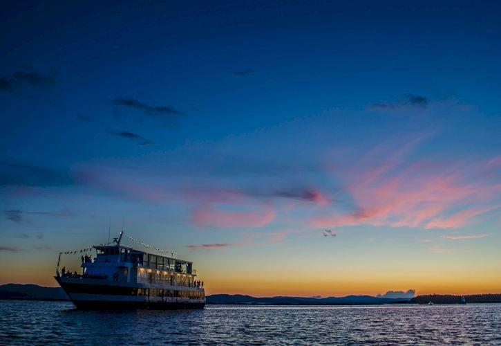 Cruises on Lake Champlain