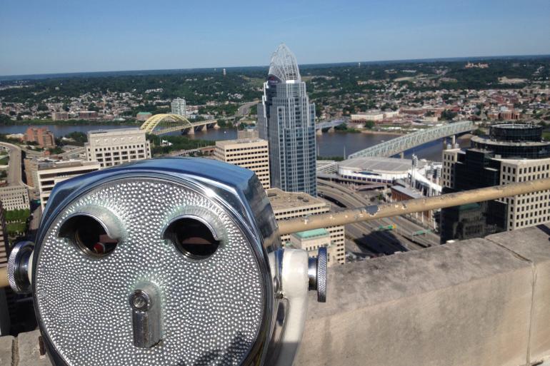 Carew Tower Observation Deck