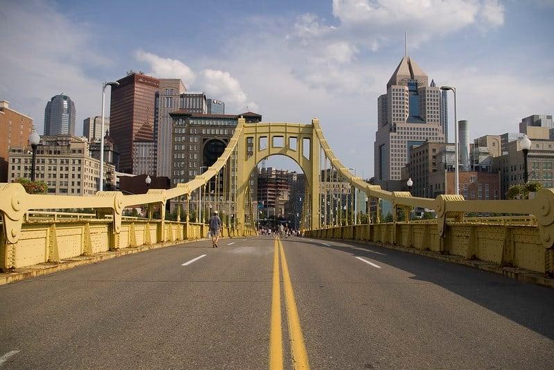Roberto Clemente Bridge (Sixth Street Bridge)