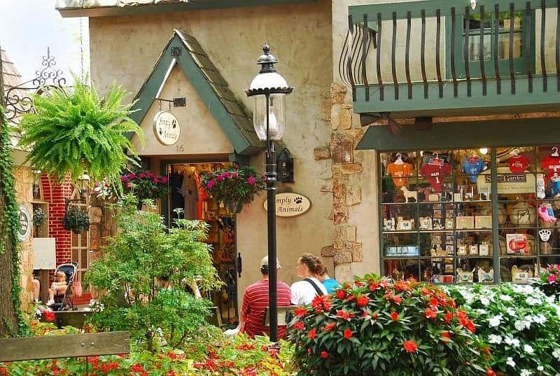 Go Shopping in the Village