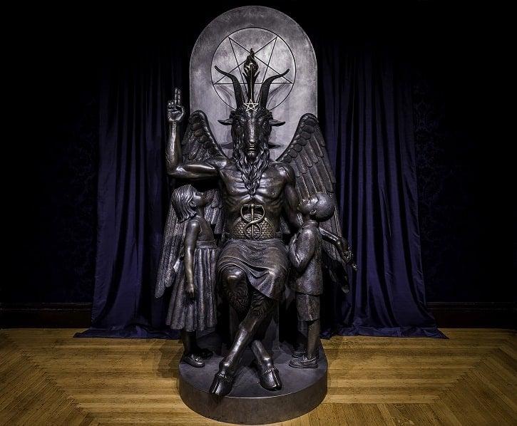 The Satanic Temple at Salem Art gallery