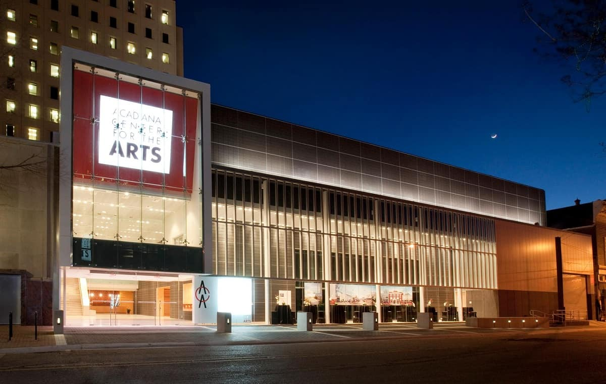 See a Performance at the Acadiana Center for Arts