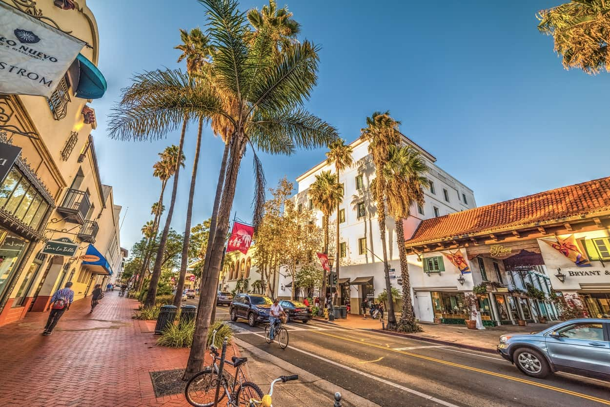 Downtown Santa Barbara (State Street)