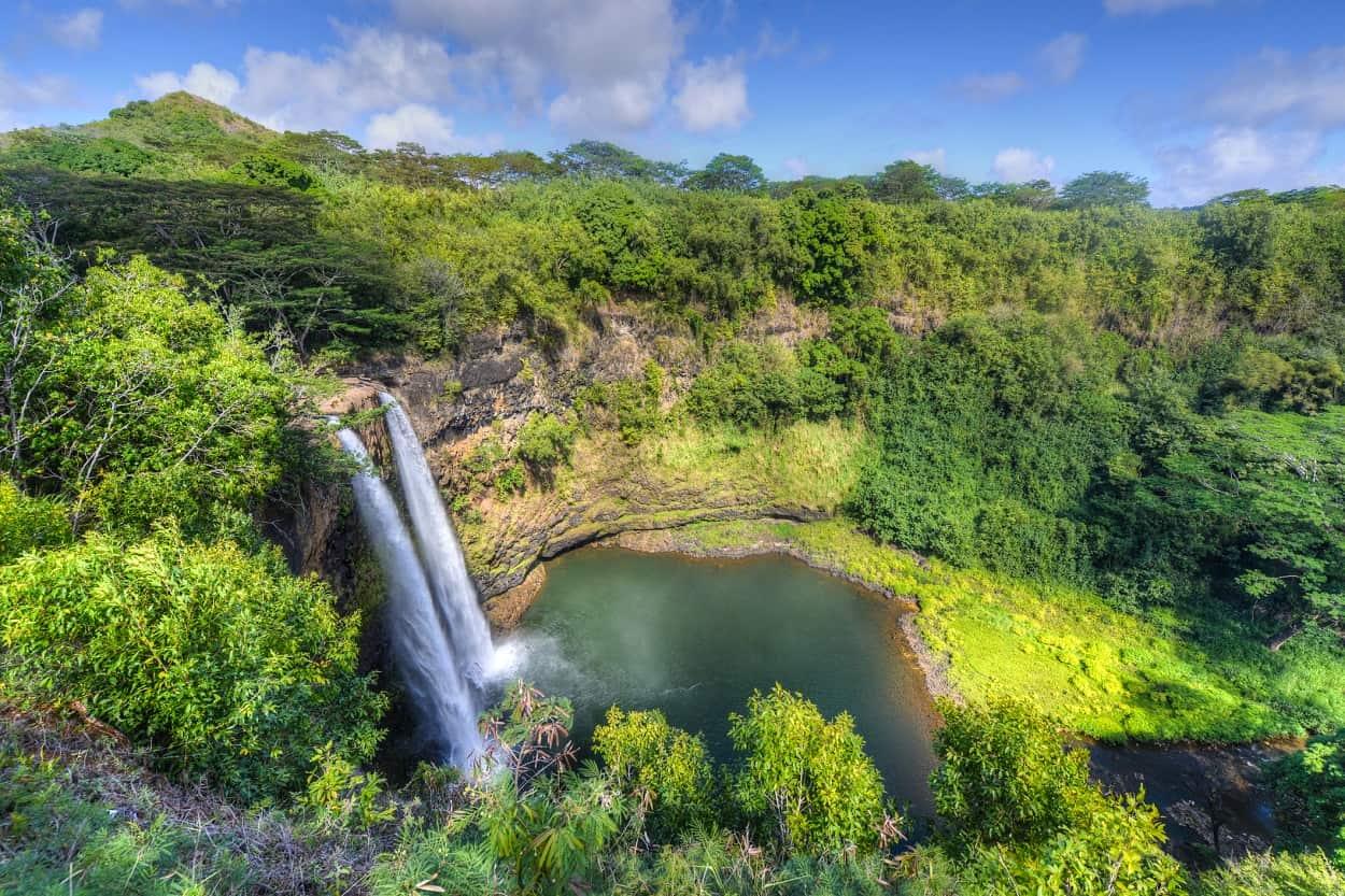Admire the Beauty of Wailua Falls