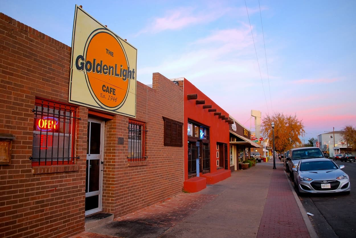 Route 66 - Sixth Street Historic District