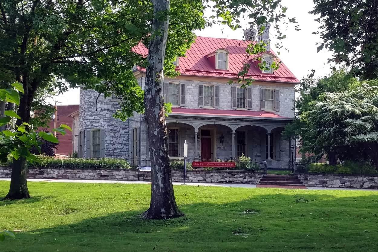 John Harris and Simon Cameron Mansion