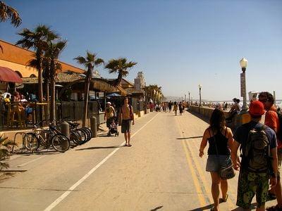 Mission Beach Boardwalk, San Diego, California