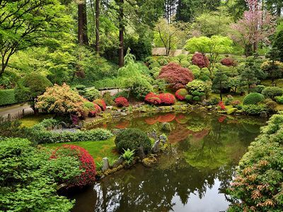 Portland Japanese Garden, Portland, Oregon