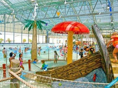 Schlitterbahn Galveston Island Indoor Waterpark, Galveston, Texas