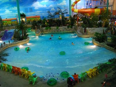 KeyLime Cove Indoor Waterpark Resort, Gurnee, Illinois