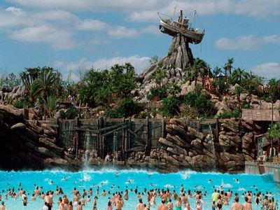 Typhoon Lagoon and Blizzard Beach, Florida
