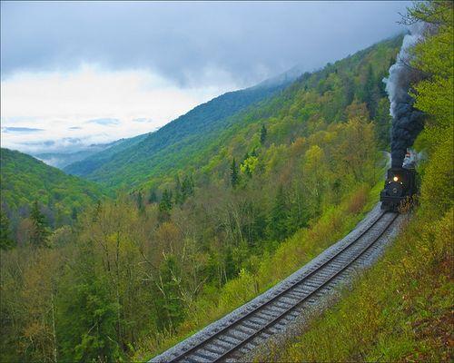 Cass Scenic Railroad, West Virginia