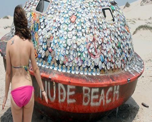 UFO Beach, South Padre Island, Texas
