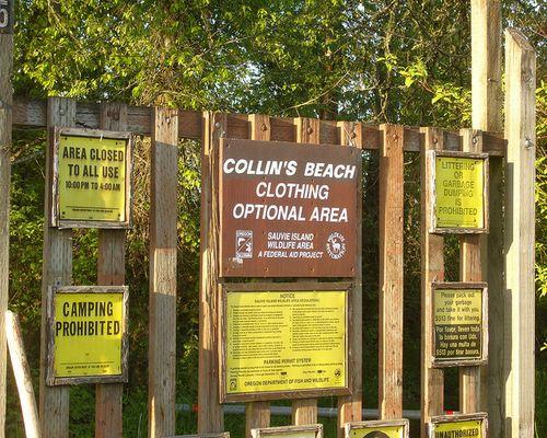 Collins Beach, Sauvie Island, Oregon