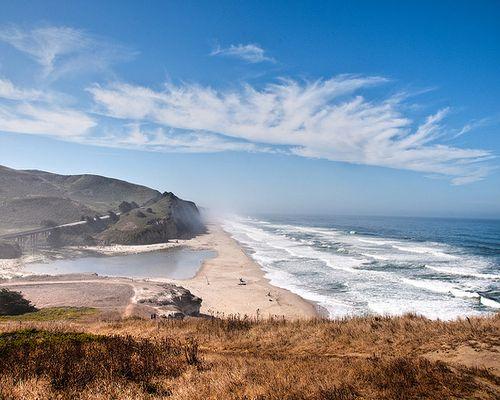 San Gregorio Nude Beach, San Mateo County, California