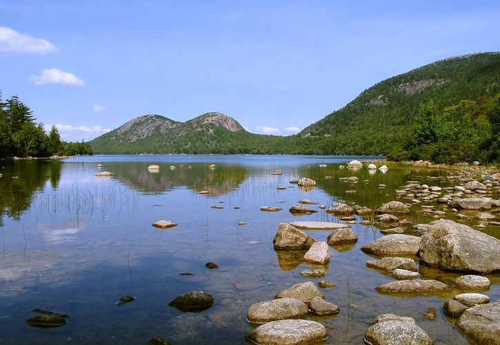 Seawall Campground, Acadia National Park, Maine