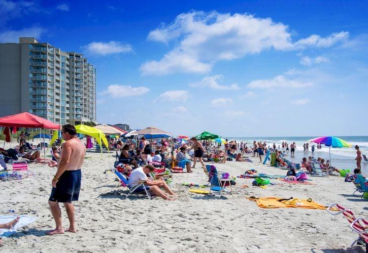 Myrtle Beach Boardwalk and Promenade, Myrtle Beach, South Carolina
