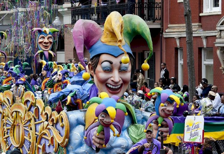 Louisiana: Mardi Gras Tour