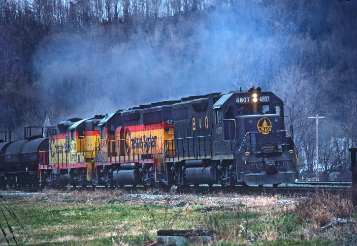 Maryland: Baltimore and Ohio Railroad Museum