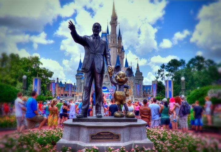 Walt Disney World Magic Kingdom, Orlando, Florida