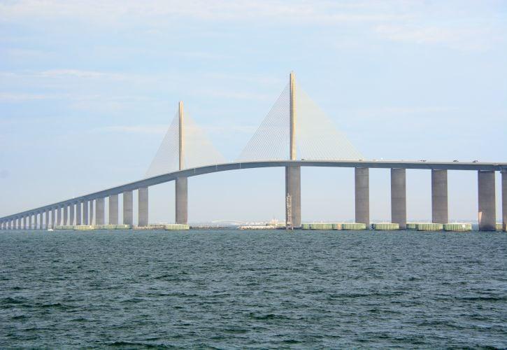 Sunshine Skyway Bridge, Tampa, Florida