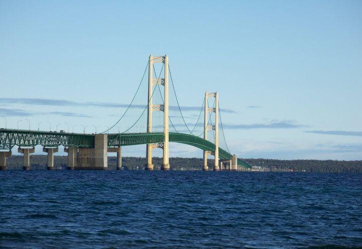 Mackinac Bridge, Mackinaw City, Michigan