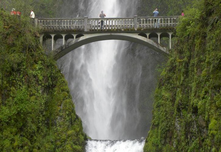 Benson Bridge, Multnomah Falls, Oregon