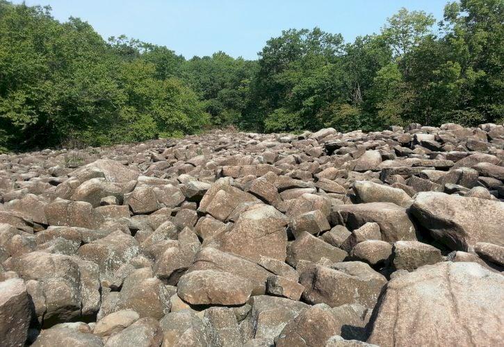 Ringing Rocks Park, Pennsylvania