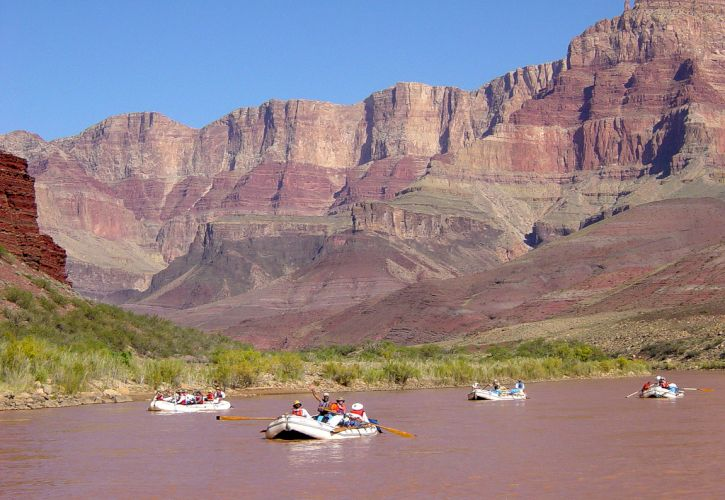 Raft in the Grand Canyon
