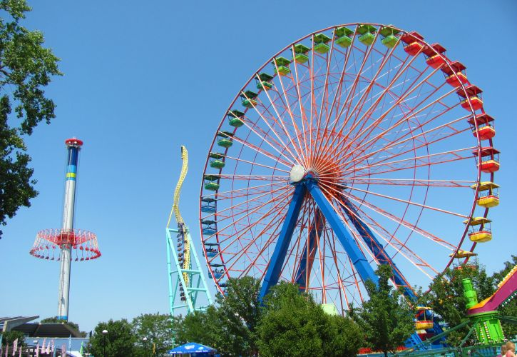 Cedar Point Amusement Park, Ohio