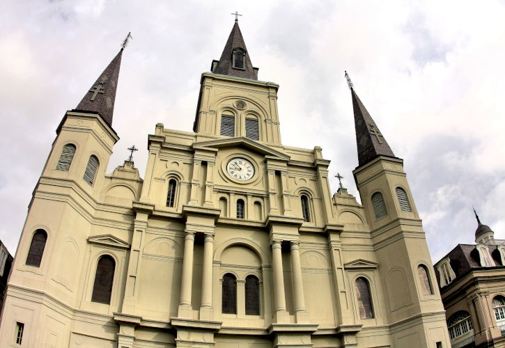Cathedral-Basilica of St. Louis King of France, New Orleans, Louisiana