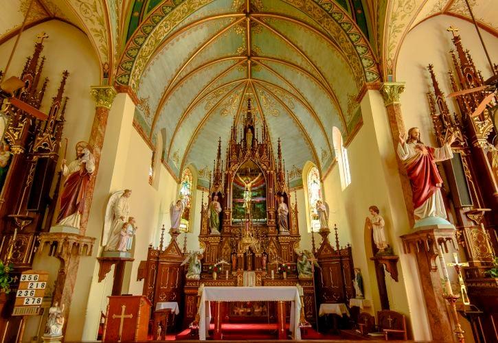 Saint Mary's Catholic Church, High Hill, Texas