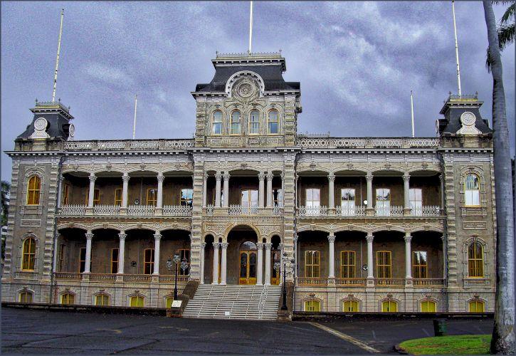 'Iolani Palace, Honolulu, Hawaii