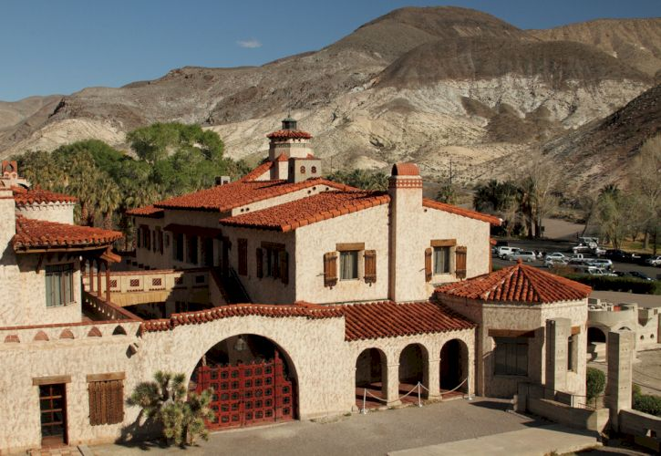 Scotty's Castle, Death Valley, CA