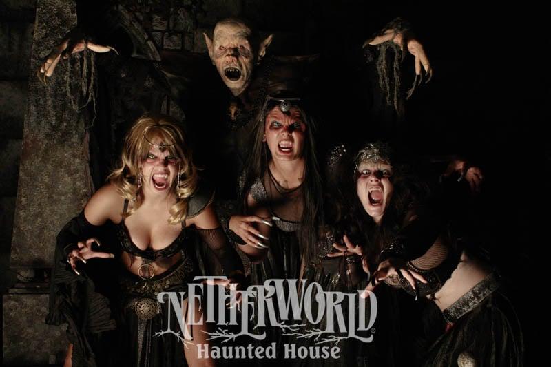 Netherworld Haunted House, Atlanta, Georgia