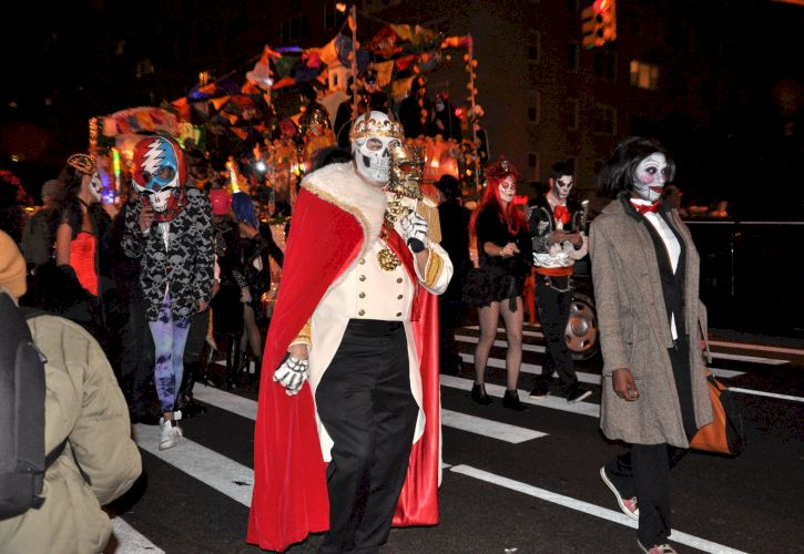 Village Halloween Parade, New York