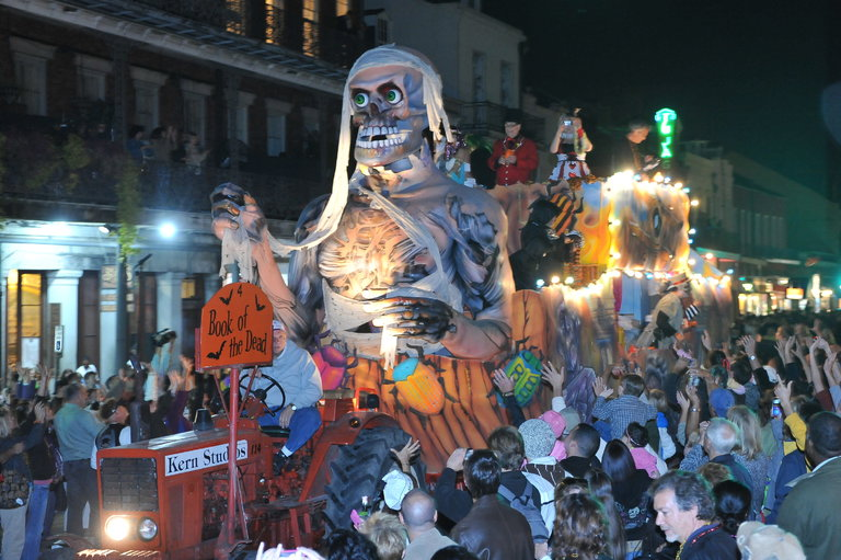 Krewe of Boo Halloween Parade, New Orleans