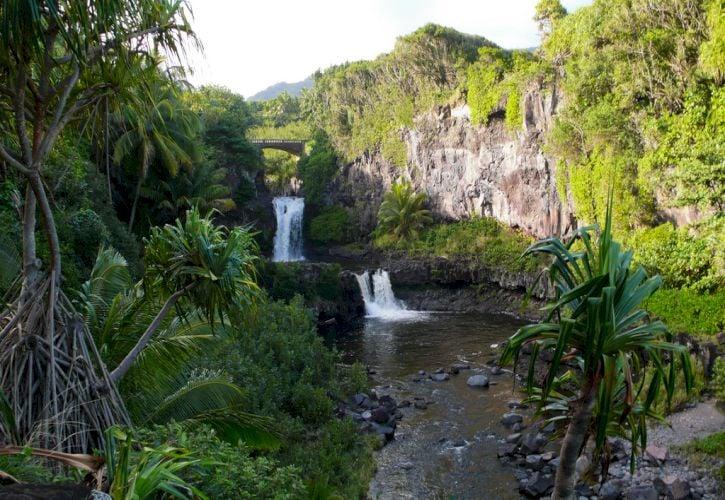 Ohe'o Gulch, Maui, Hawaii