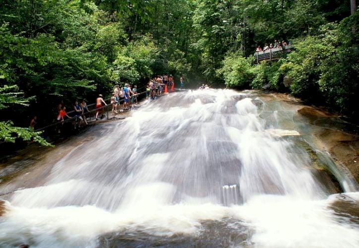 Sliding Rock, Asheville, North Carolina