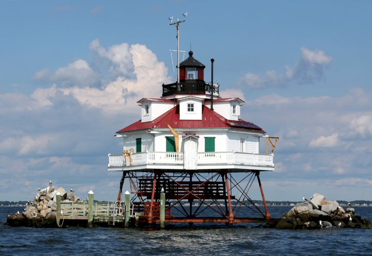 Thomas Point Shoal Light Station, Maryland