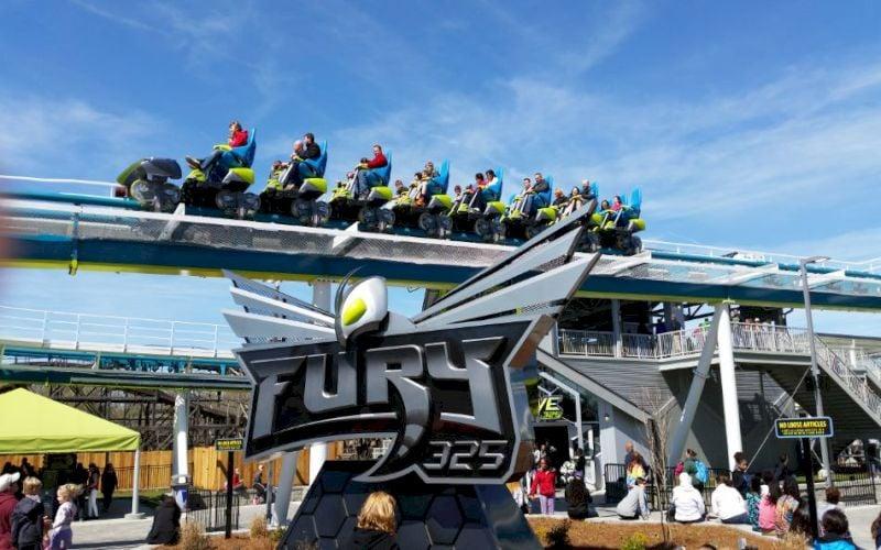 Fury 325 at Carowinds Amusement Park