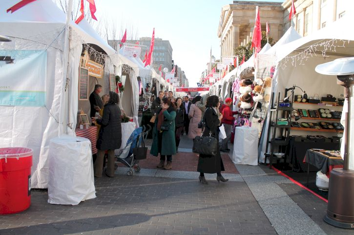 Downtown Holiday Market, Washington D.C.