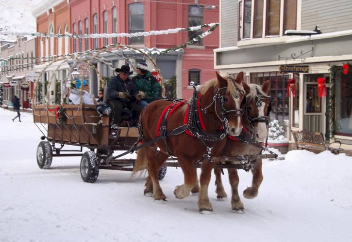 Georgetown Christmas Market, Georgetown, Colorado
